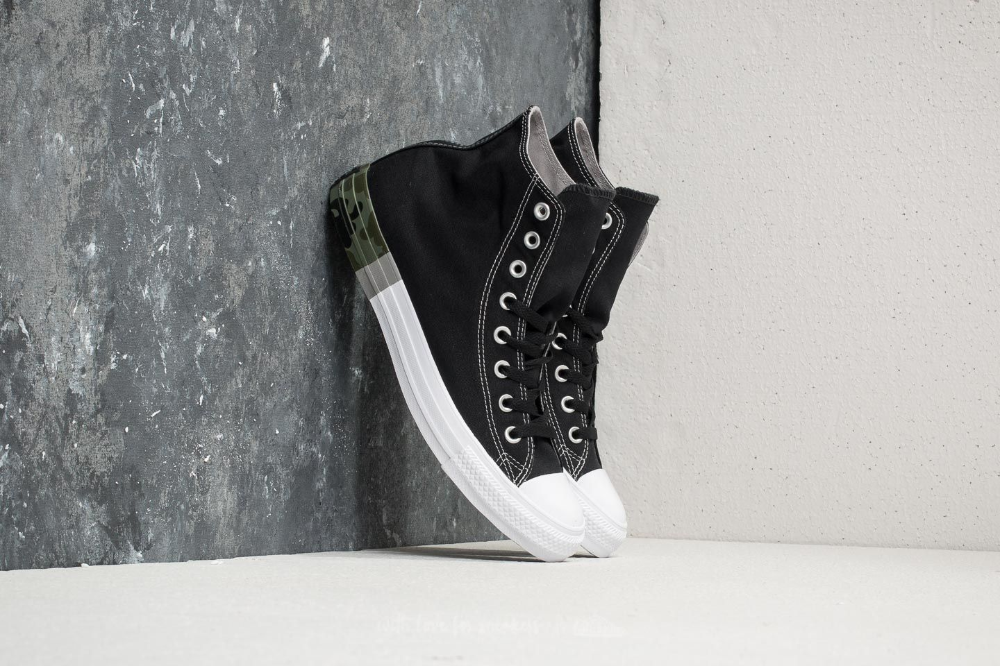 48c7214a58e8 Converse Chuck Taylor All Star Hi Black  Dolphin  White