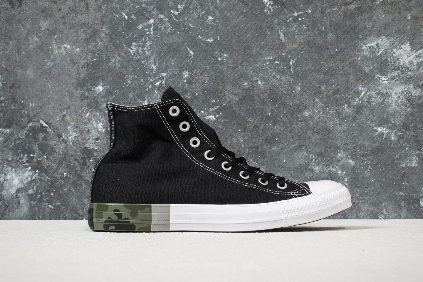 466f08469dc Converse Chuck Taylor All Star Hi Black  Dolphin  White at a great price  60