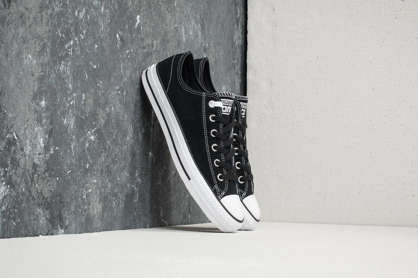Converse Chuck Taylor All Star Pro Ox Black  Black  White  5c3da3c981
