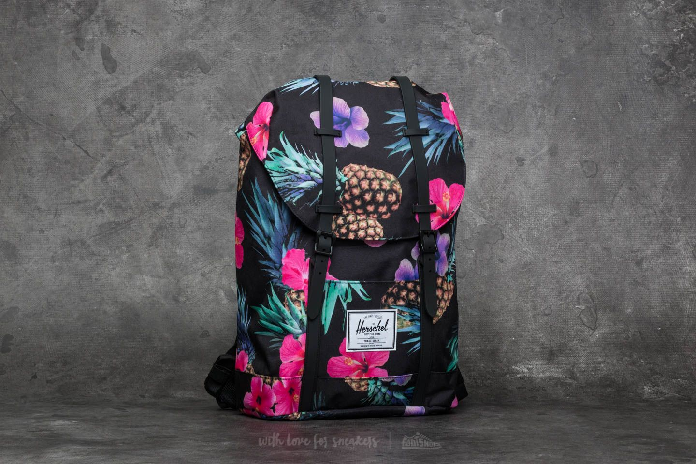 32e36822bad Herschel Supply Co. Retreat Backpack Black Pineapple
