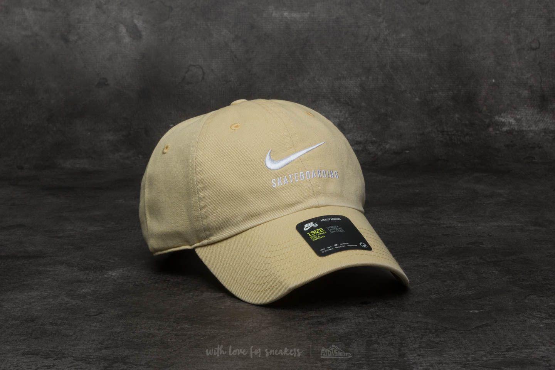 Nike SB H86 Twill Cap Lemon Wash  Lemon Wash  White  63e0f2addebf