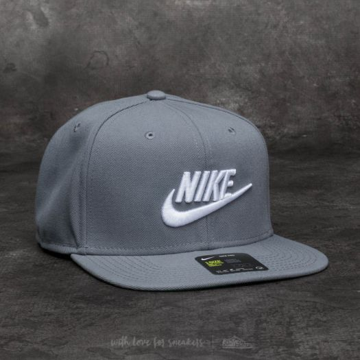 purchase cheap outlet on sale on sale Nike Sportswear Futura Pro Cap Cool Grey/ White | Footshop