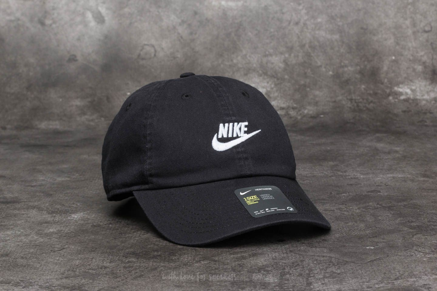 afa1425c22a77 Nike Sportswear H86 Futura Washed Cap Black at a great price  26 buy at  Footshop
