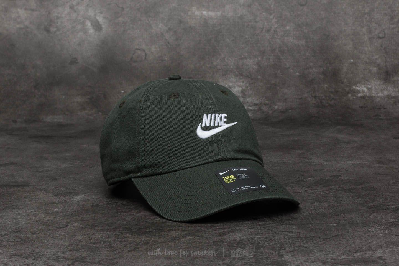 wholesale dealer ae6d9 400b5 Nike Sportswear H86 Futura Washed Cap Sequoia