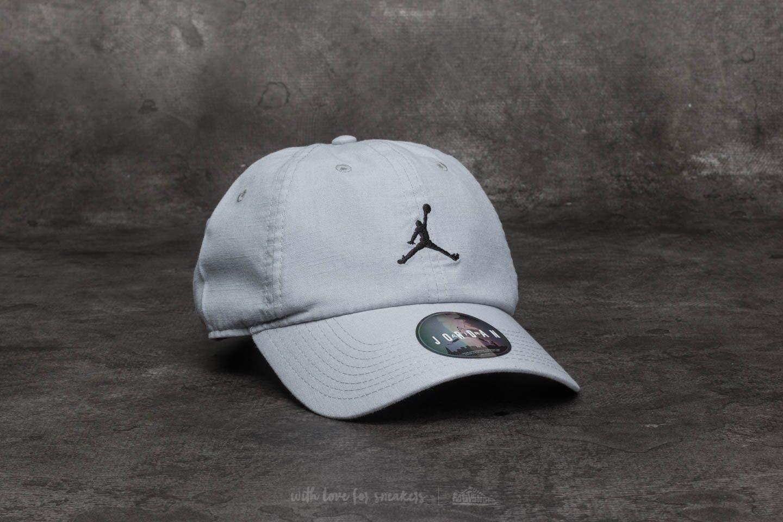ca4957c04a9 Jordan H86 Jumpman Washed Cap Wolf Grey
