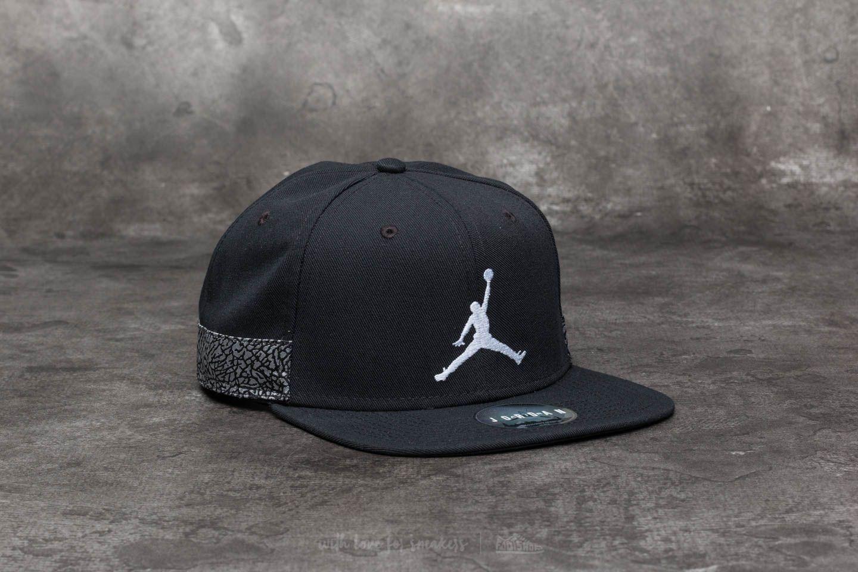 26bbaba91 Jordan Jumpman AJ3 Pro Cap Black/ White | Footshop