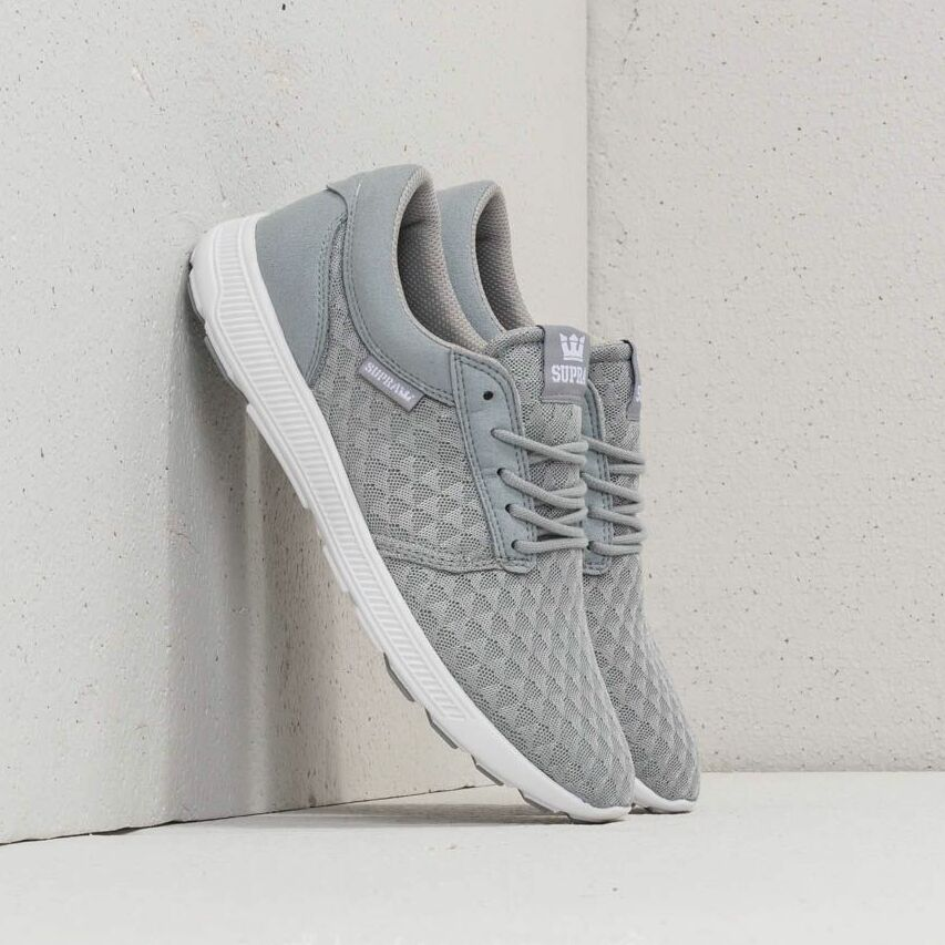 Supra Hammer Run Light Grey/ White EUR 44.5