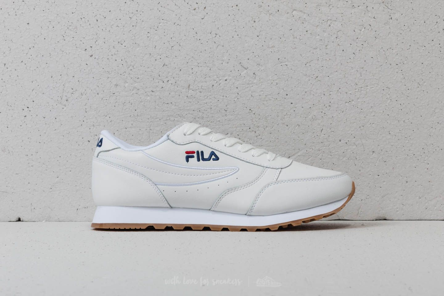FILA Orbit Jogger Low White | Footshop