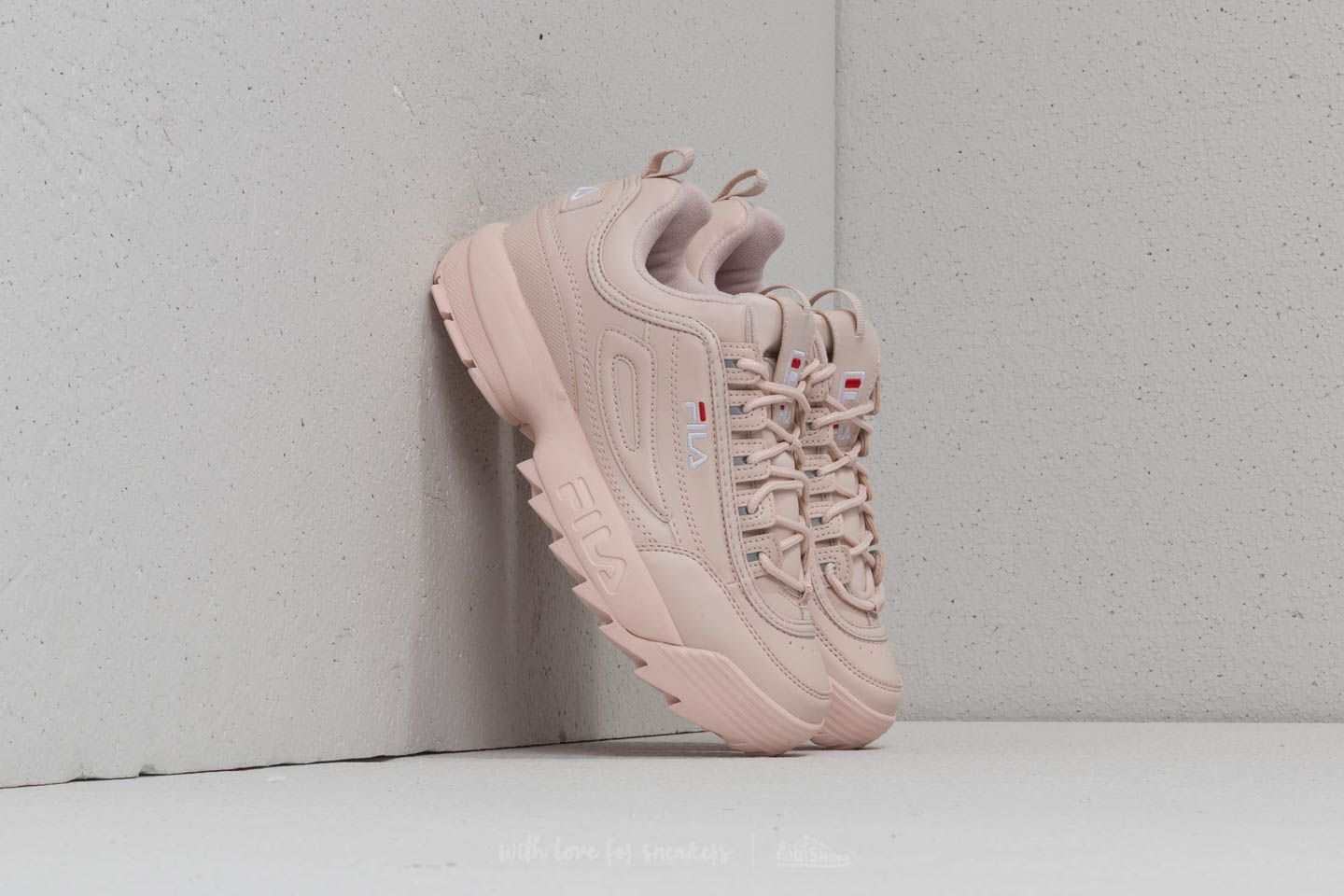 FILA Disruptor Low Wmn Peach Whip