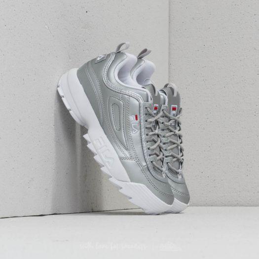 shoes FILA Disruptor M Low Wmn Silver