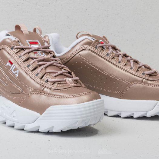 shoes FILA Disruptor M Low Wmn Rose Gold