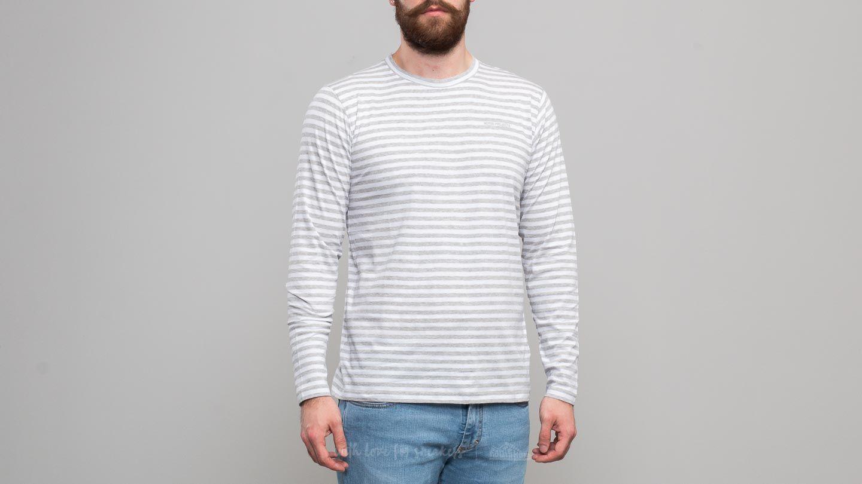 Norse Projects James Logo Stripe Longsleeve Tee Light Grey Melange za skvělou cenu 580 Kč koupíte na Footshop.cz