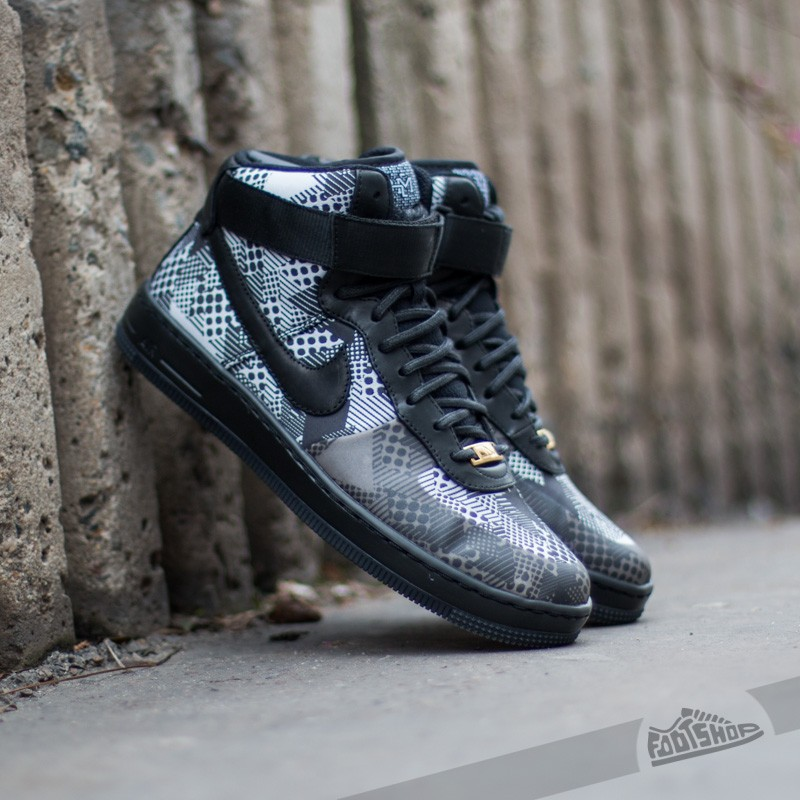 best sneakers 06ac0 c94e6 Nike W Air Force 1 Ultra Force BHM QS BlackBlack-White