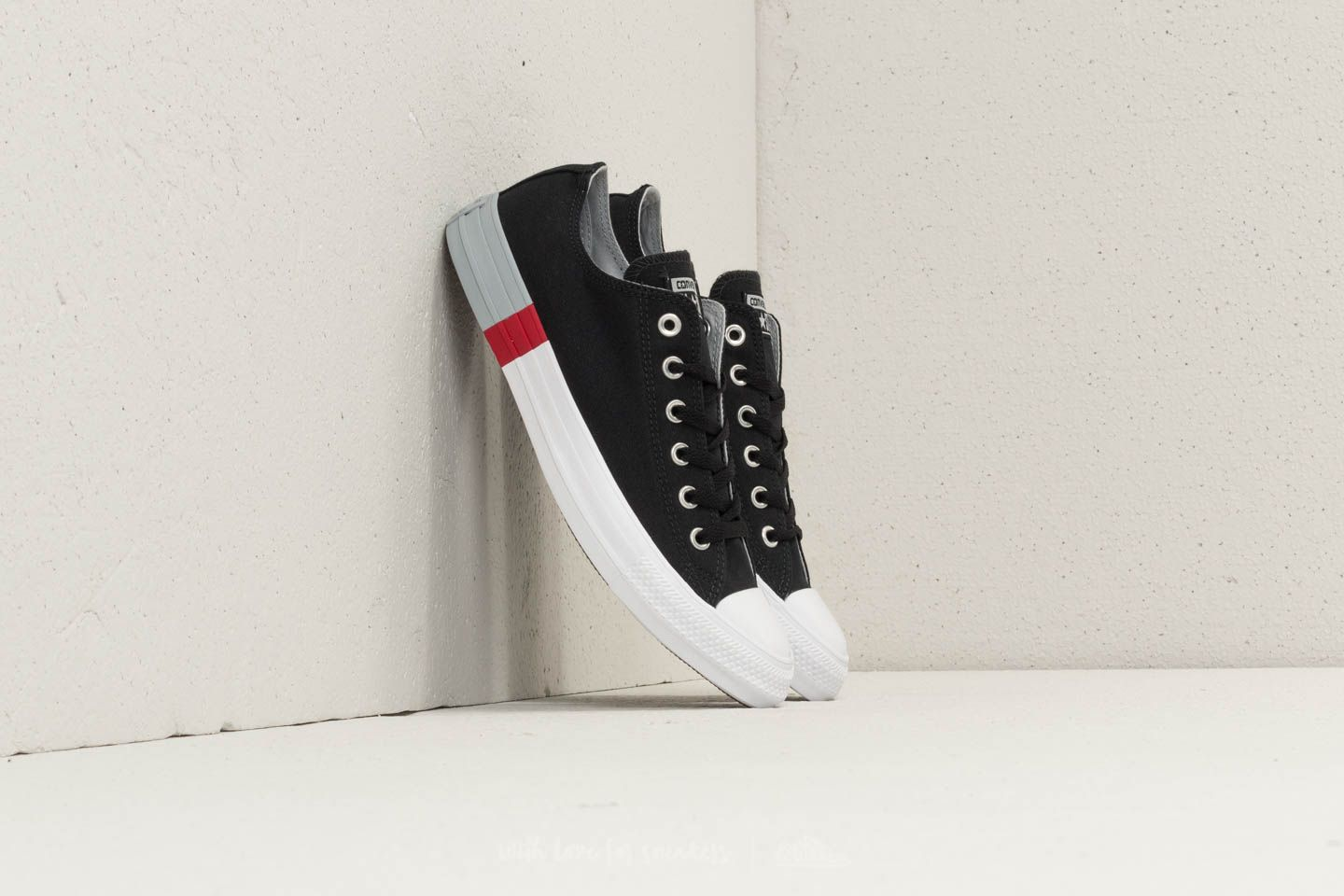 Converse Chuck Taylor All Star OX Black/ Wolf Grey/ White