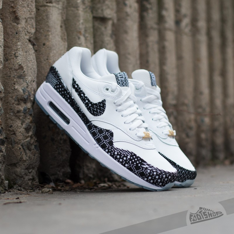 Nike Air max 1 BHM QS WHiteBlack Metallic Gold | Footshop