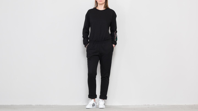 Adidas Longsleeve Jumpsuit Black Footshop