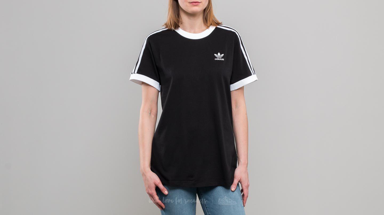 adidas 3 Stripes Tee Black