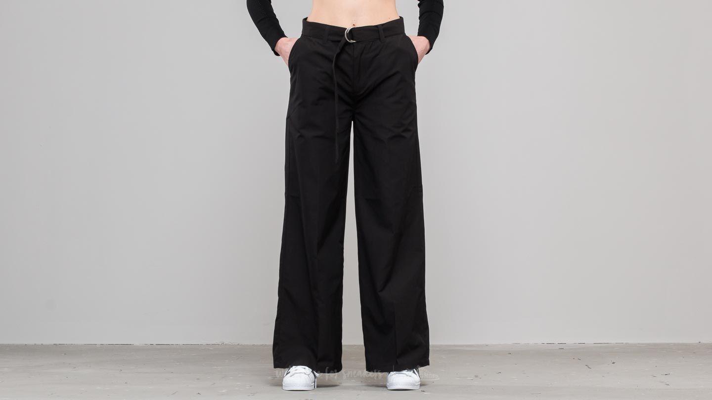 Stüssy Gretchen Wide Leg Trouser Black za skvělou cenu 1 690 Kč koupíte na Footshop.cz