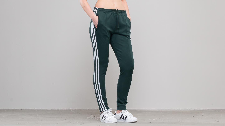 adidas originals superstar track pants green