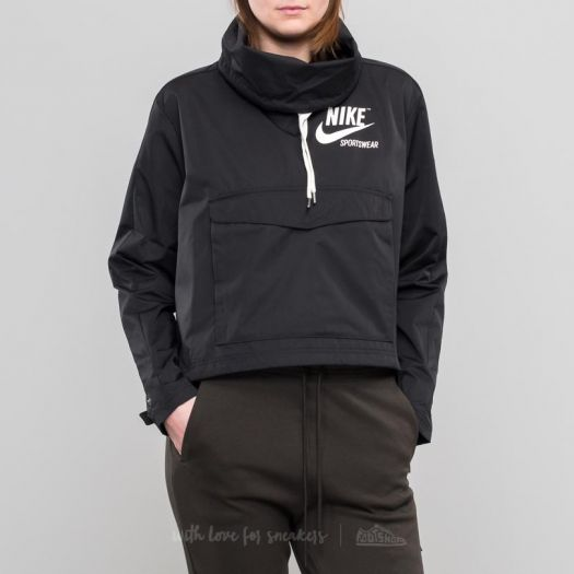 on wholesale great discount sale 2019 factory price Nike Sportswear Archive Pullover Jacket Black | Footshop