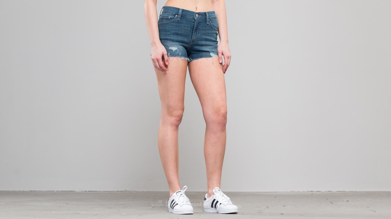 Levi's® High Rise Kickflip Short Indigo