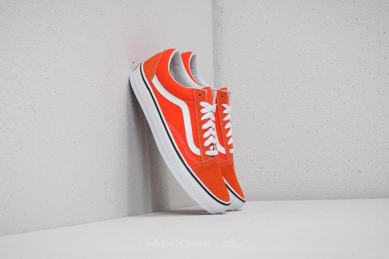 7f50684d Vans Old Skool Flame/ True White   Footshop