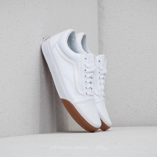 Vans Old Skool (Gum Bumper) True White Gum | Footshop