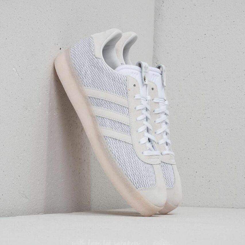 adidas Consortium x Juice Gazelle Primeknit Ftw White/ Core Black/ Ftw White EUR 46 2/3