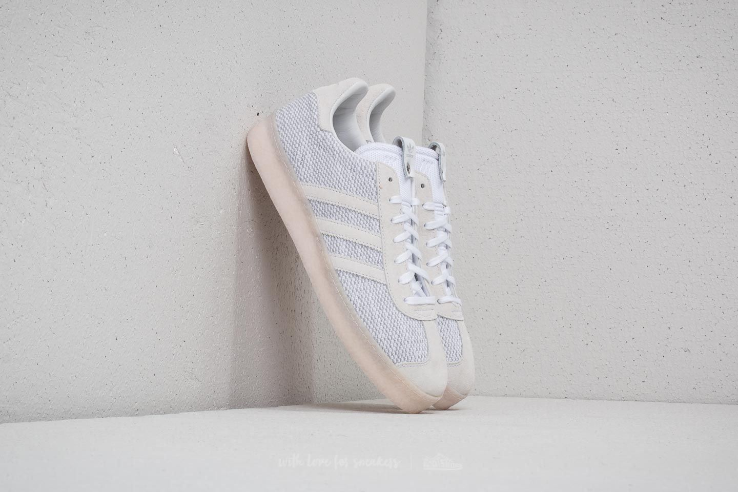 low priced 88606 f3a37 adidas Consortium x Juice Gazelle Primeknit Ftw White Core Black Ftw  White at a