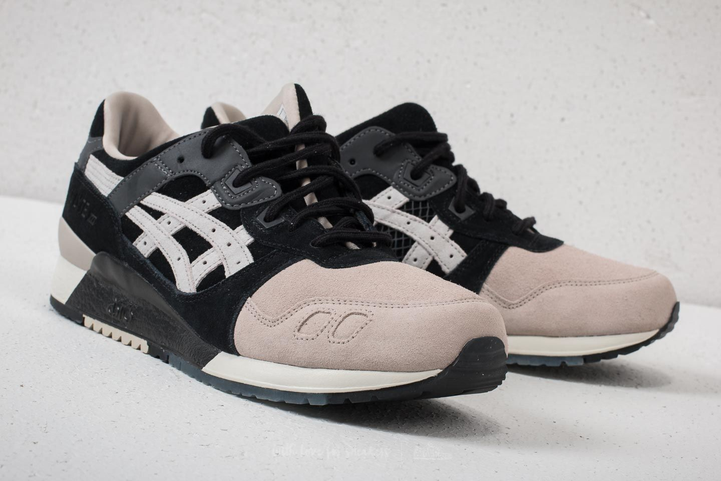 finest selection 85dfe 8ab9b Asics Tiger x Kicks Lab Gel-Lyte III Black/ Cool Grey | Footshop
