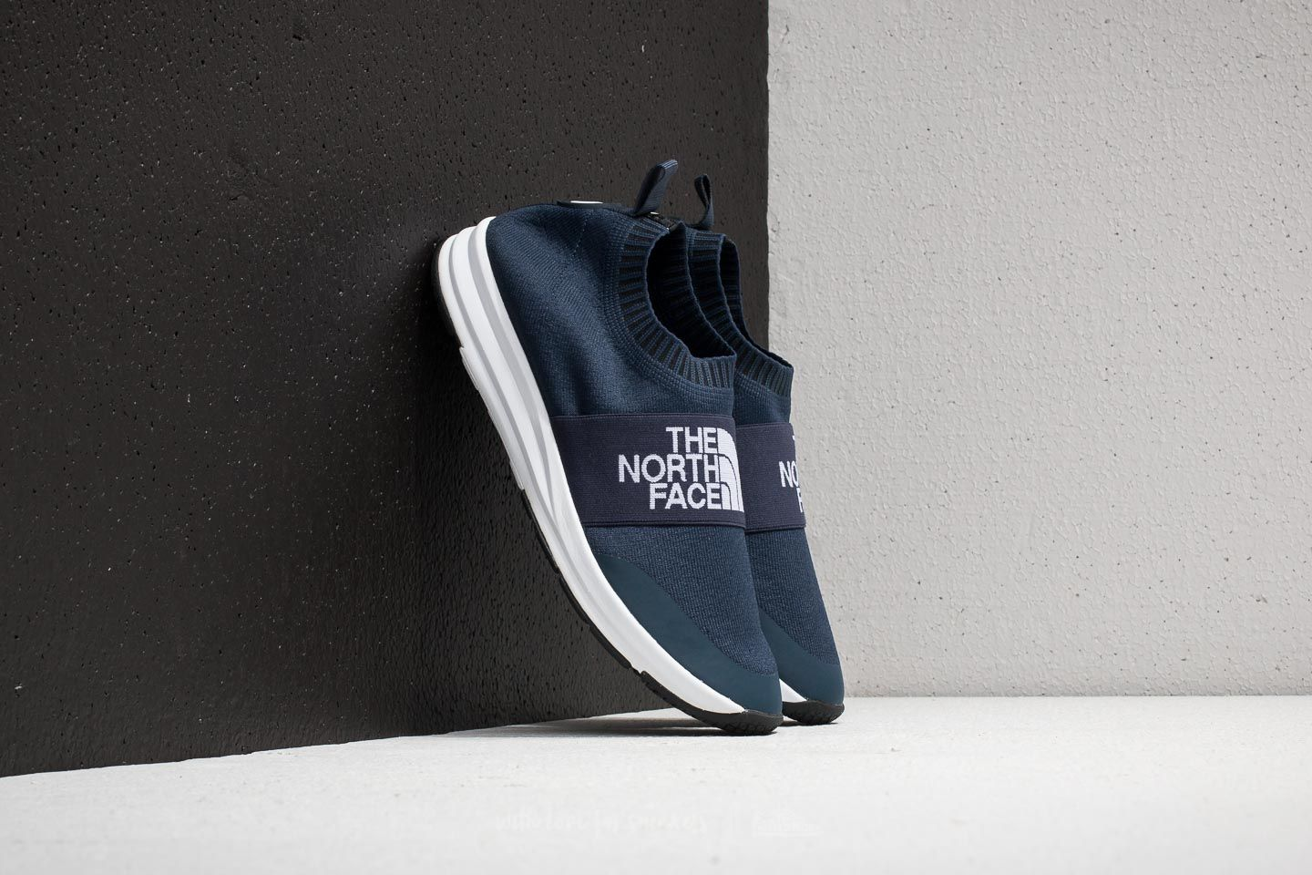 The North Face NSE Traction Knit Moc Urban Navy/ TNF White