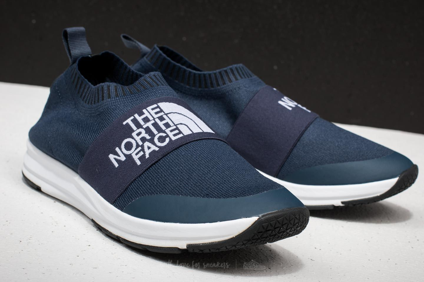 9f60eb064 The North Face NSE Traction Knit Moc Urban Navy/ TNF White | Footshop