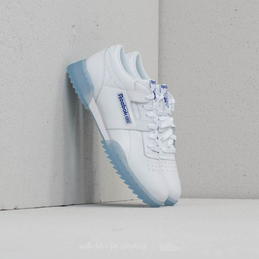 Reebok Workout Clean Ripple Ice White Acid Blue Ice | Footshop
