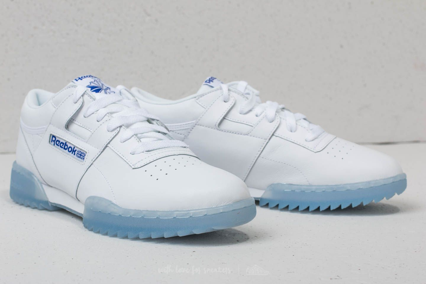 shoes Reebok Workout Clean Ripple Ice