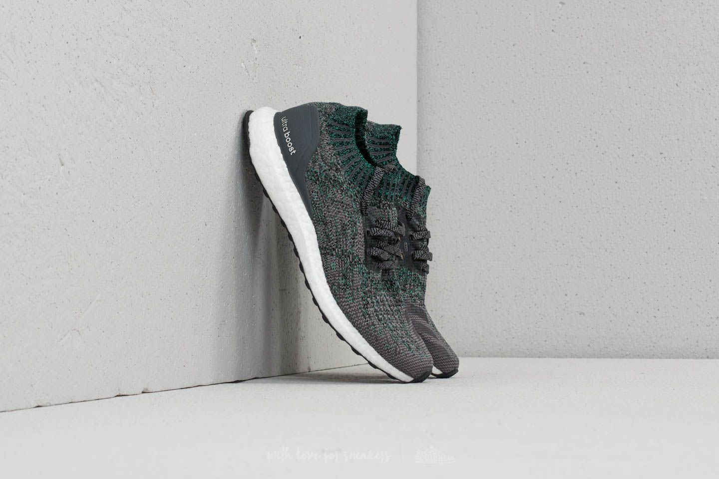 810df675048 adidas Ultraboost Uncaged Grey Two  Grey Five  Hi-Res Green ...