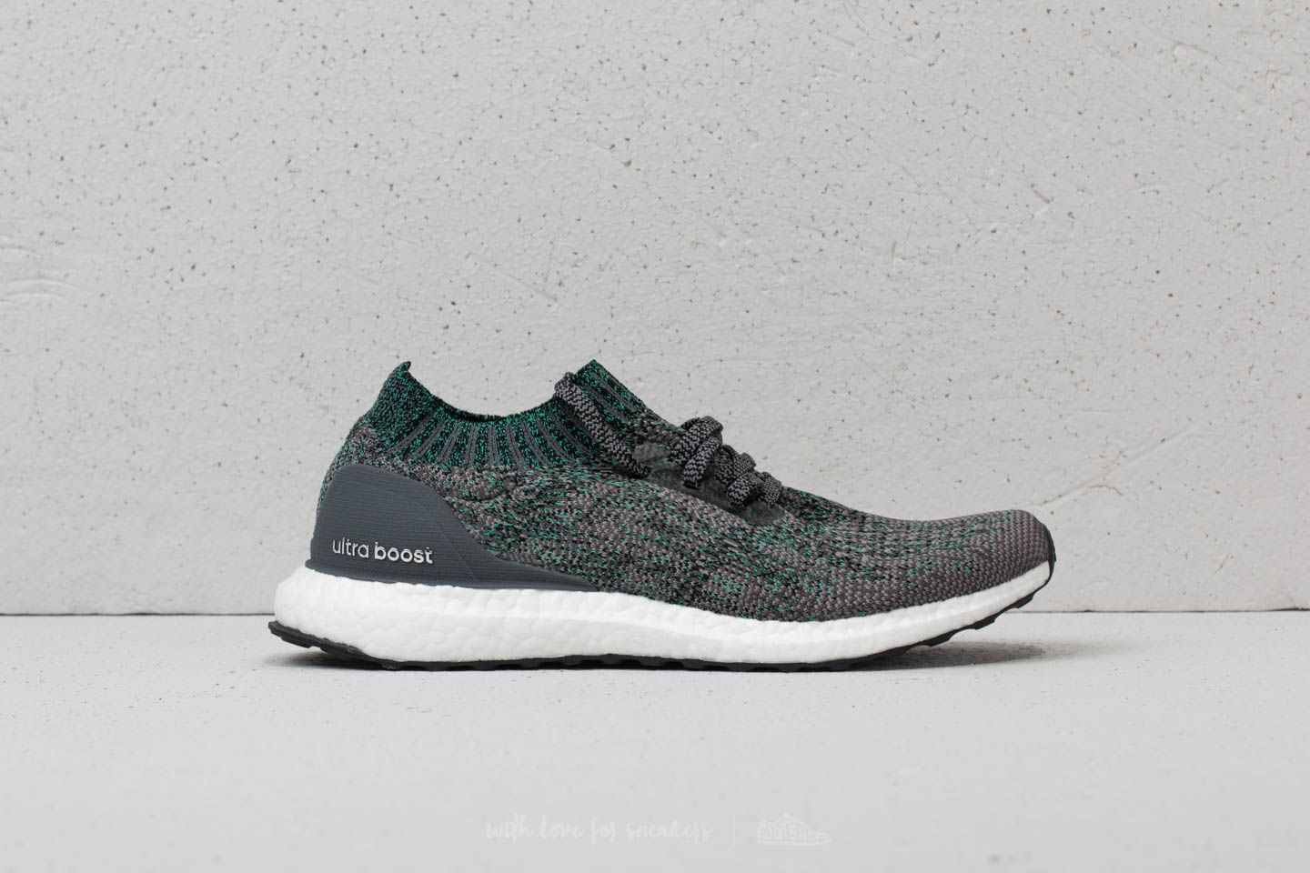 the best attitude d4bba 525d0 ... adidas Ultraboost Uncaged Grey Two Grey Five Hi-Res Green at a great ...