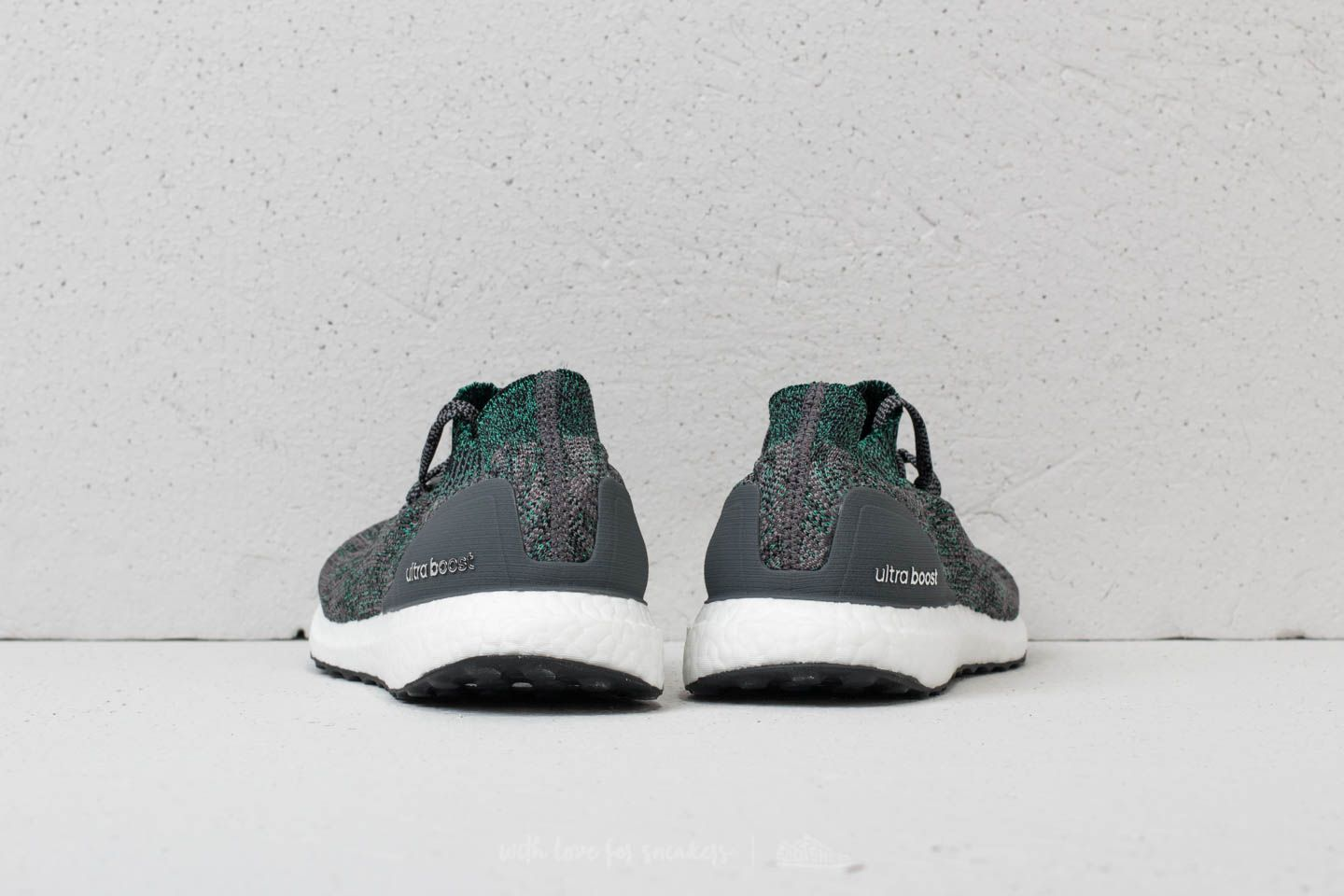 adidas Ultraboost Uncaged Grey Two Grey Five Hi Res Green
