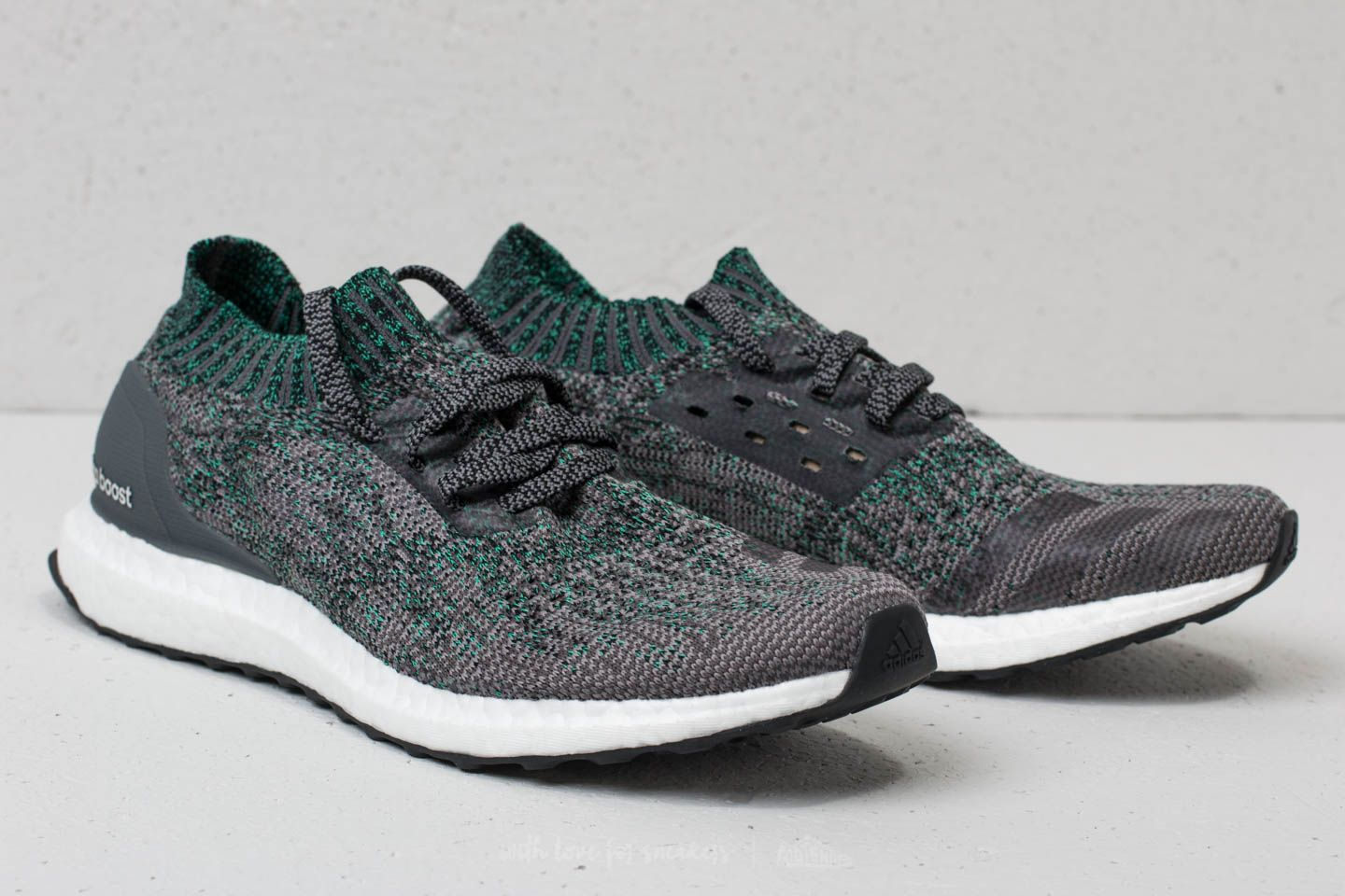 sports shoes 30ecc aa939 adidas Ultraboost Uncaged Grey Two/ Grey Five/ Hi-Res Green ...