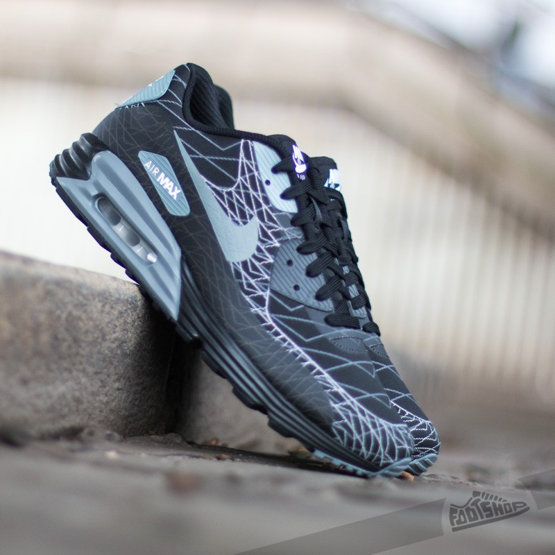 Nike Air Max Lunar 90 Jacquard BlackCool GreyWhite Footshop  Footshop