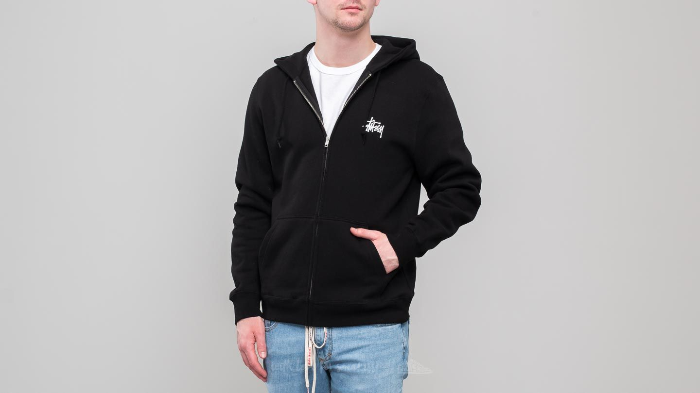8ac483a3b0e Stüssy Basic Zip Hoodie Black
