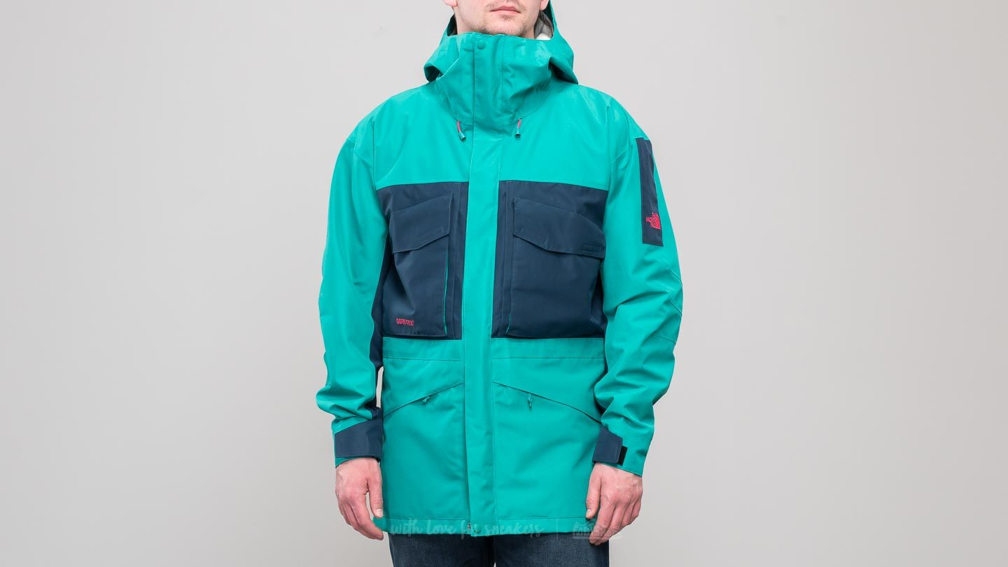9cfa1db86911 The North Face Fantasy Ridge Gore-Tex Jacket Porcelain Green  Bluw Wing  Teal at
