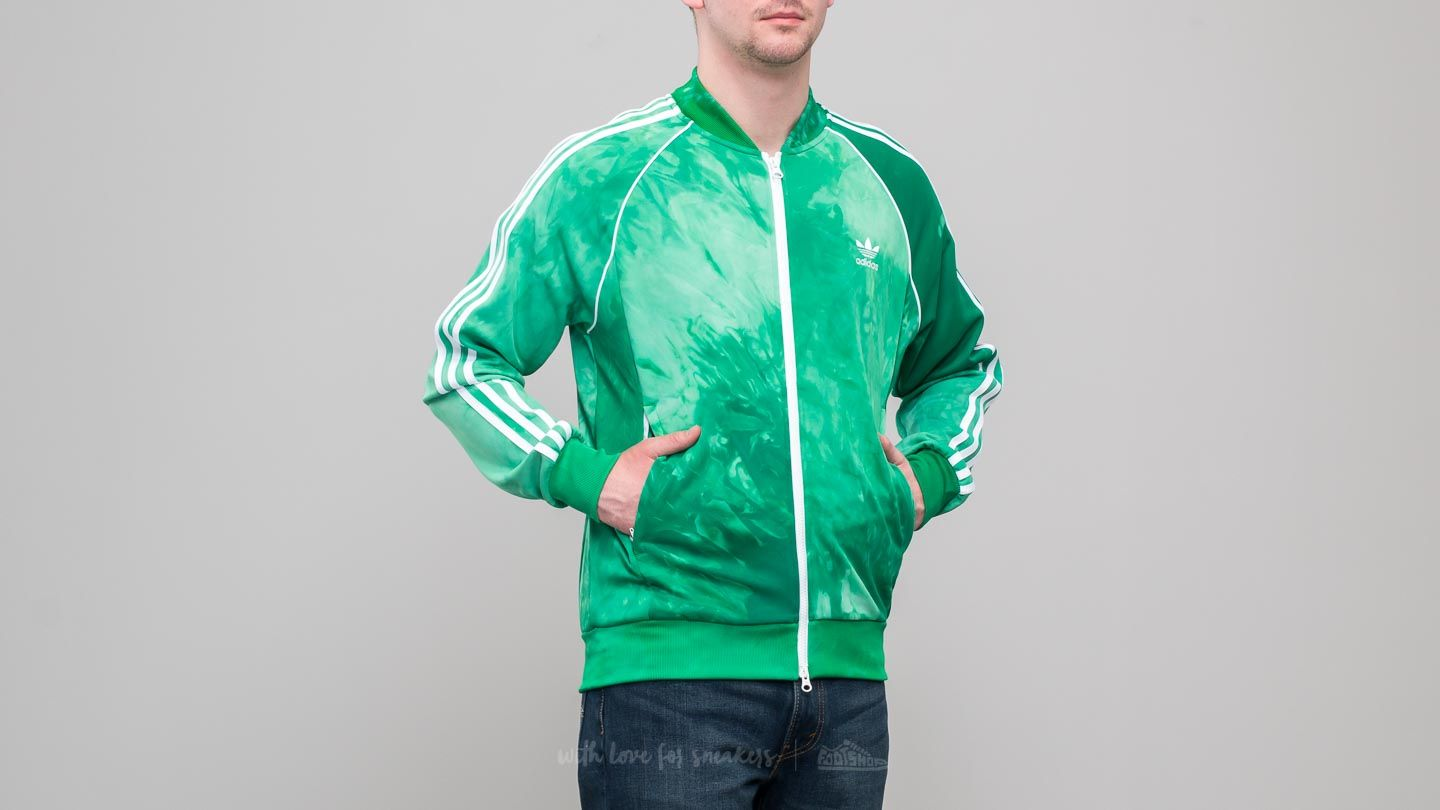 adidas x Pharrell Williams HU Holi Superstar Track Top Green