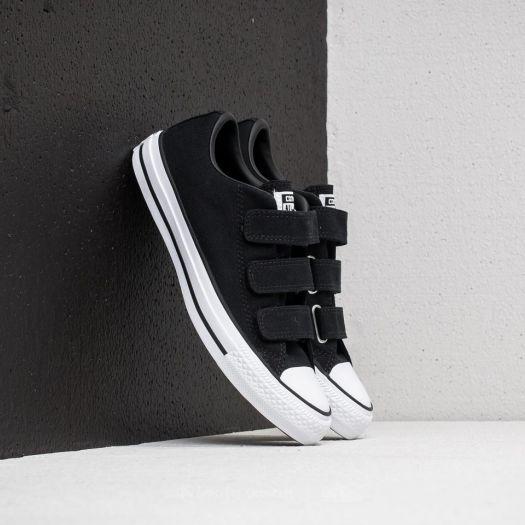Converse Chuck Taylor All Star 3V OX Black  Black  White  9f55037b24