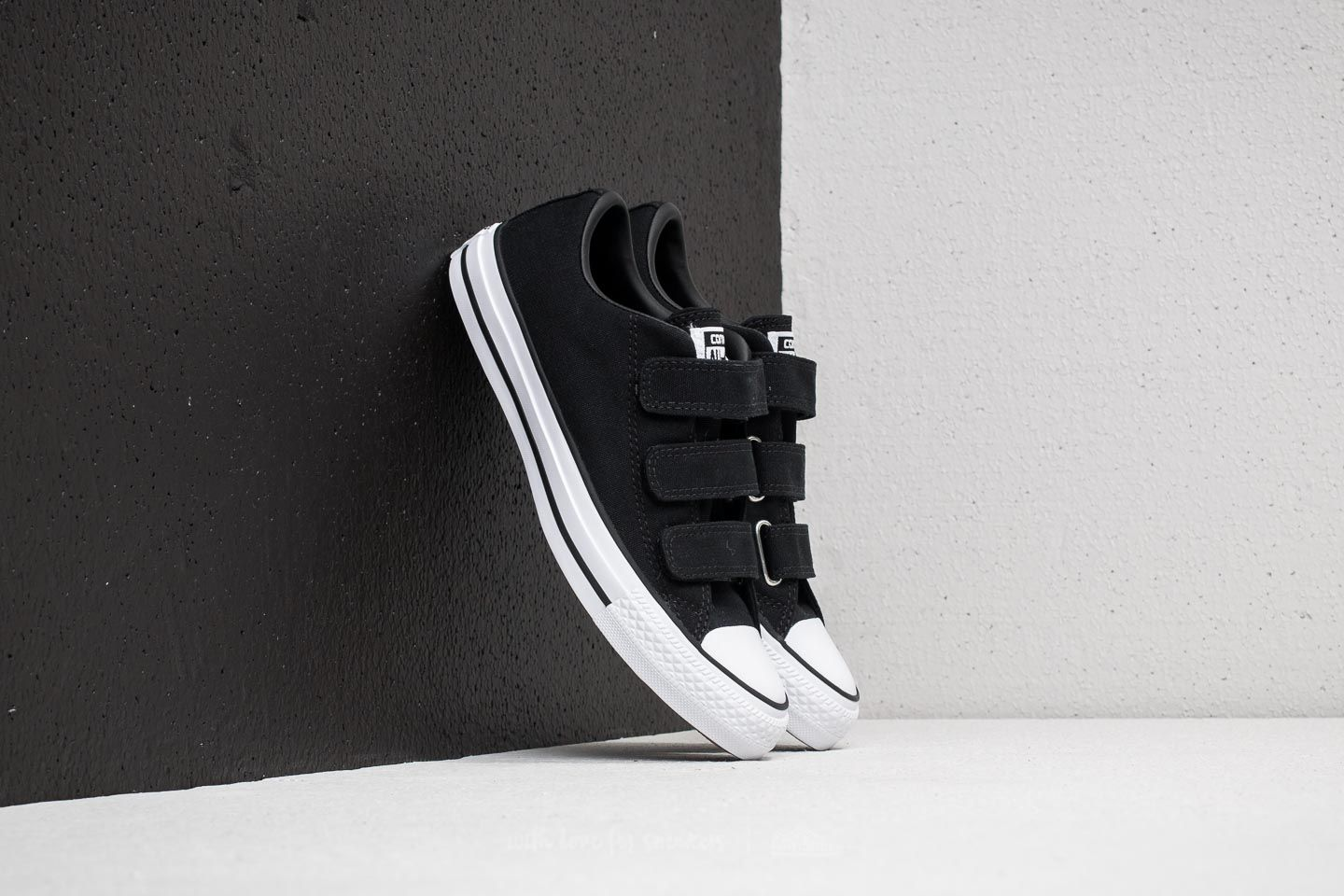 f1047c28e95870 Converse Chuck Taylor All Star 3V OX Black  Black  White