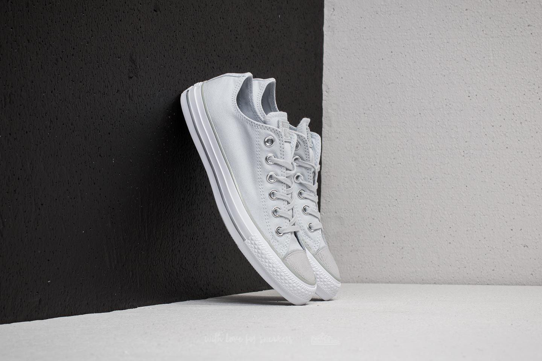 32a4929fe6084d Converse Chuck Taylor All Star Ox Pure Platinum  Silver  White