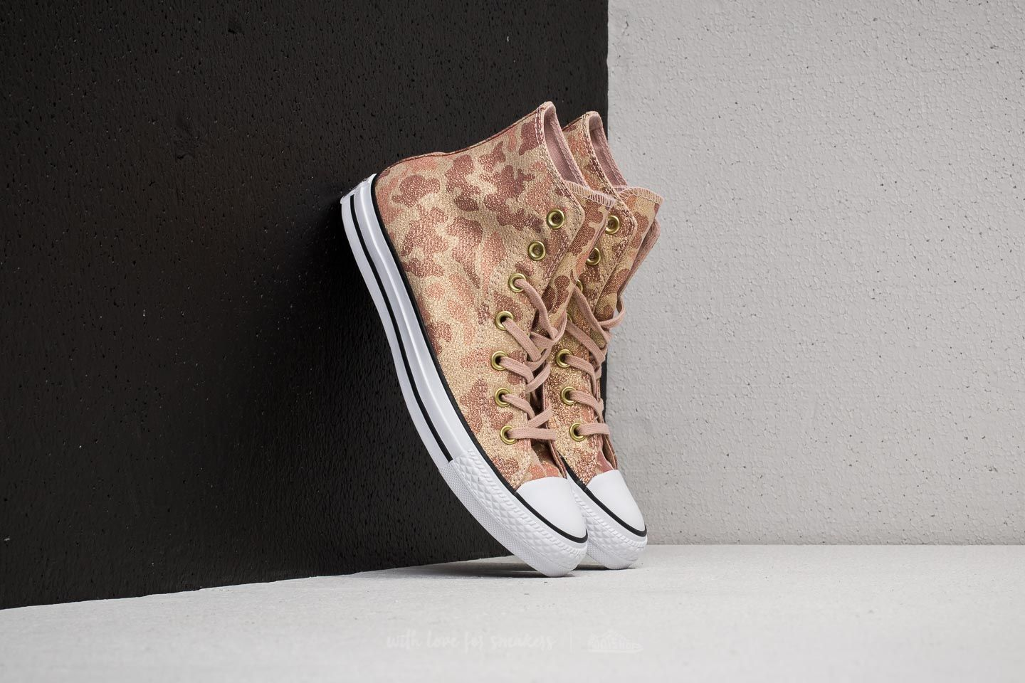 Converse Chuck Taylor All Star Hi Particle Beige  Cameo Brown ... d48332f42
