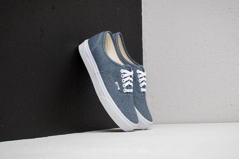 Vans Authentic (Jersey) Blue True White | Footshop