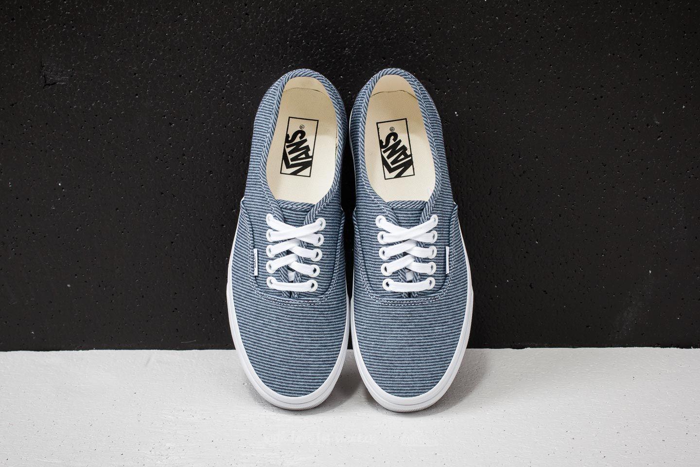 88b024657be Vans Authentic (Jersey) Blue  True White za skvělou cenu 1 190 Kč koupíte