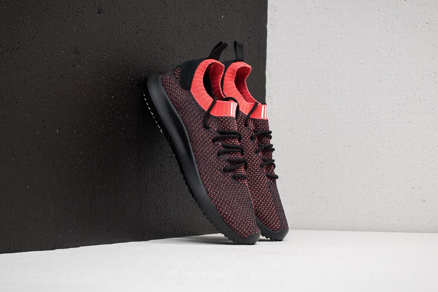 adidas Tubular Shadow Primeknit Core Black  Core Black  Trace Scarlet at a  great price ef86b7555