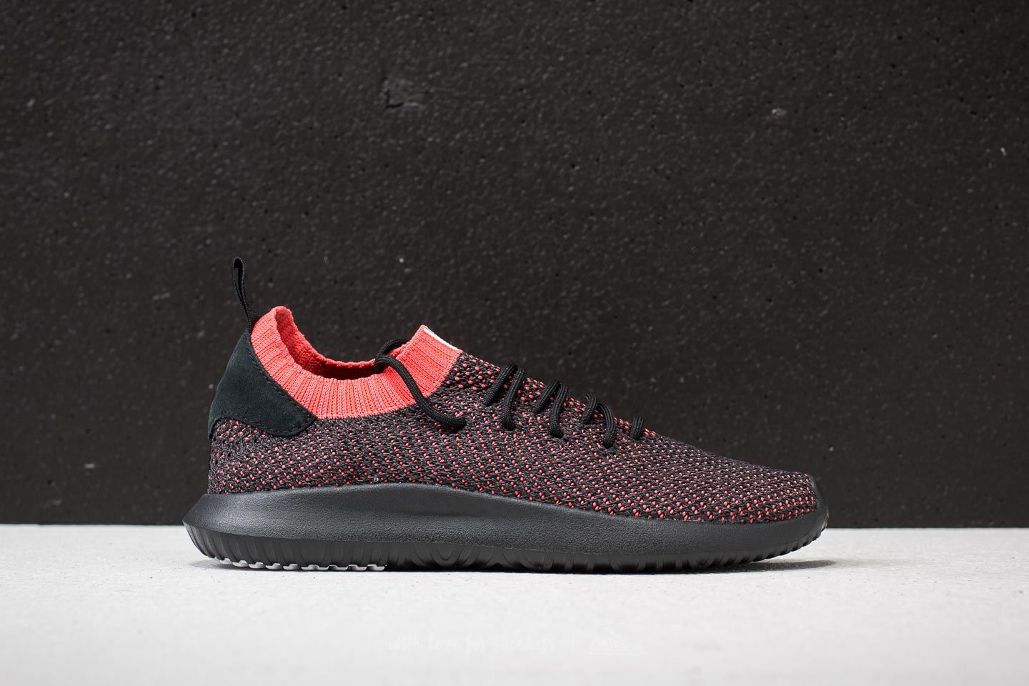 dd6cb5025039 adidas Tubular Shadow Primeknit Core Black  Core Black  Trace Scarlet at a  great price